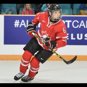 Rebecca Johnston - National Women's Hockey Team