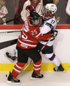 Tessa Bonhomme - National Women's Hockey Team